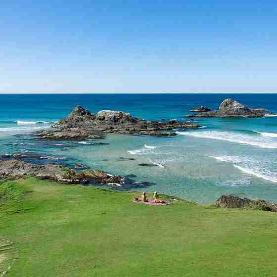 boutique accommodation byron bay Broken Head Land Picnic View